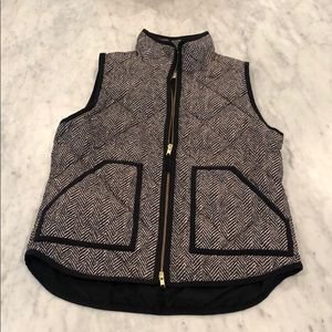 Herringbone Jcrew Vest, brand new never worn.